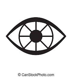 podbite oko, ikona