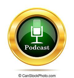 podcast, アイコン