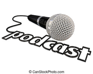 Podcast Cord Microphone Communication Sharing Opinion ...
