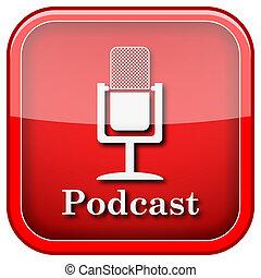 podcast, ikone