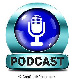 podcast listen audio music or audiobook live stream webcasting
