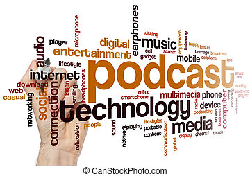 Podcast word cloud