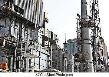 poddawanie procesowi, gaz, fabryka