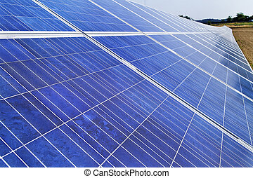poder, energia, energy., solar, alternativa, plant.