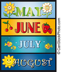 poder, junio, julio, agosto