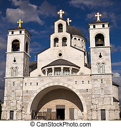 Podgorica, Cathedral of the Resurrection of Christ, Serbian Orthodox Church, the Metropolitanate of Montenegro, Capital of Montenegro