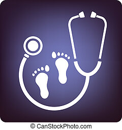 Podiatry - Sign for podiatry