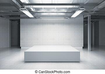 podium, lege