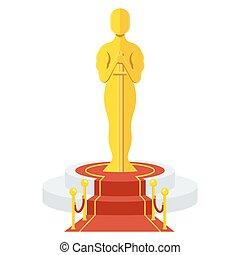 podium, récompense