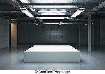 podium, vide
