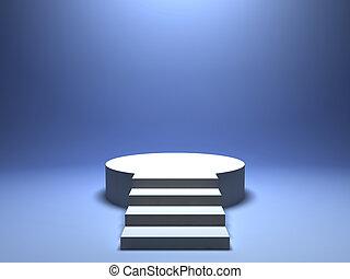 podium, zwycięzca