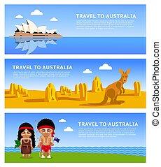 podróż, australia.