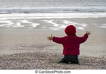 podróż, do, przedimek określony przed rzeczownikami, plaża, w, przedimek określony przed rzeczownikami, zima