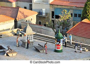 podróż, fotografie, od, izrael, -, mini, izrael