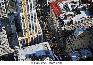 podróż, -, fotografie, york, nowy, manhattan