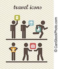 podróż, handlowy