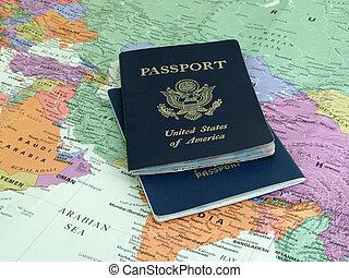 podróż, międzynarodowy