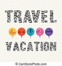 podróż, urlop