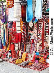 poduszki, sprzedaż, medyna, safian, chefchaouen, dywany