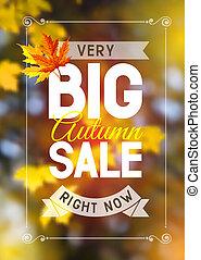 podzim, prodej