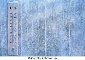 pogoda, sztuka, zima, tło