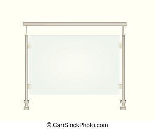 pohár, erkély, kerítés