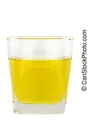 pohár, főz olaj