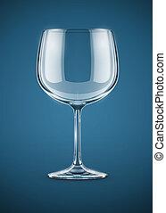 pohár, ital, talpas pohár, bor