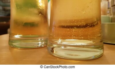 pohár, panama, sör