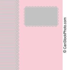 pohled, ., vektor, ilustrace