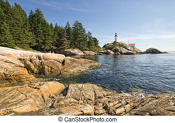 Point Atkinson Lighthouse in Vancouver BC - Point Atkinson...