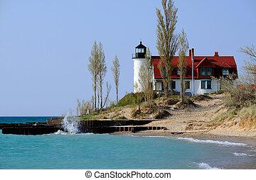 Point Betsie Lighthouse, built in 1858