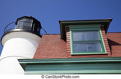 Point Betsie Lighthouse, Michigan, USA.