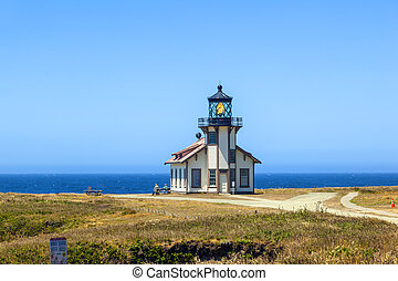 Point Cabrillo Lighthouse, California - famous Point ...