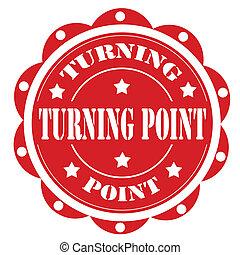 point-label, vändning