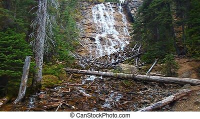 Point Lace Falls Canada - Point Lace Falls in Yoho National...