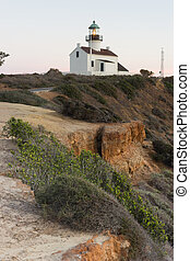 Point Loma Lighthouse Cabrillo National Monument Pacific ...