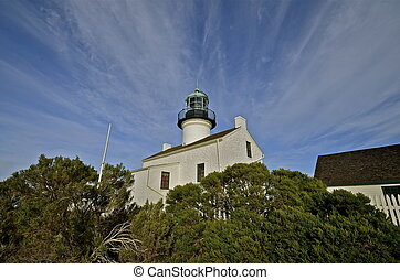 Point Loma Lighthouse - The historic Point Loma lighthouse