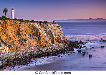 Point on the Pacific Ocean - Point Vicente in Rancho Palos...
