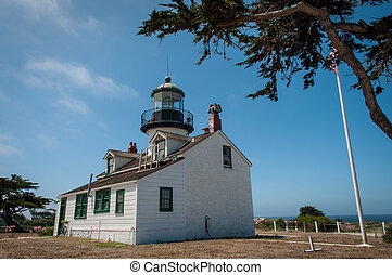 Point Pinos Historic Lighthouse in Monterey California