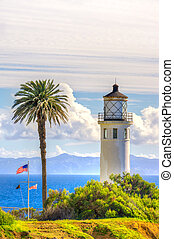Point Vicente Lighthouse in Vertical