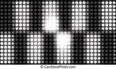 point, vidéo, digitalement, polka, engendré