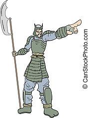 Point warrior - Creative design of point warrior