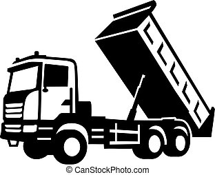 pointe, camion