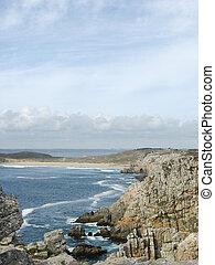 Pointe de Penhir et du Toulinguet in Brittany (France)