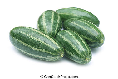 Pointed gourd or potol of indian subcontinent