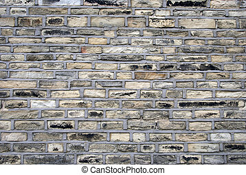 Pointed Stone Wall