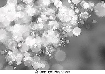 Pointillized black and white abstract background