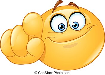 Pointing at you emoticon - Emoticon pointing at you