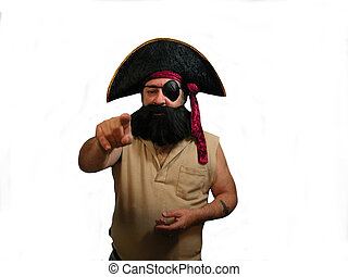 Pointing Pirate